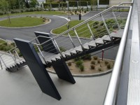 KPMG escalier exterieur