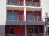 Garde-corps à barreaudage sur balcon