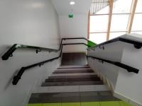 Main courantes sur escalier